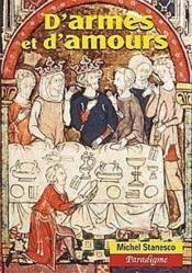 D'armes et d'amours ; études de litterature arthurienne - Couverture - Format classique