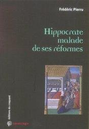 Hippocrate malade de ses réformes - Intérieur - Format classique