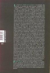 Hippocrate malade de ses réformes - 4ème de couverture - Format classique