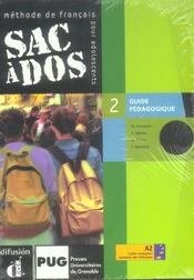Sac A Dos Niveau 2 ; Guide Pedagogique - Intérieur - Format classique