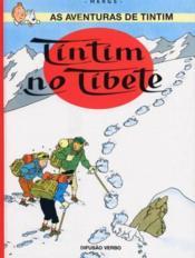 As aventuras de Tintim t.20 ; Tintim no Tibete - Couverture - Format classique