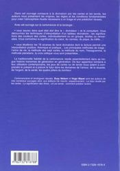 Le Grand Livre De La Cartomancie Et Des Tarots - 4ème de couverture - Format classique