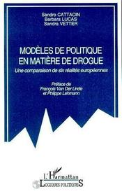 Modeles De Politique En Matiere De Drogue - Intérieur - Format classique