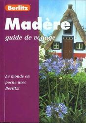 Madere - Intérieur - Format classique