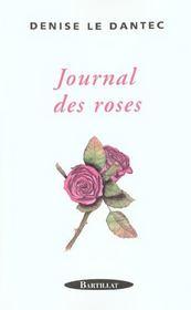 Journal des roses - Intérieur - Format classique