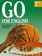 Go for english terminale (afrique centrale) - Couverture - Format classique