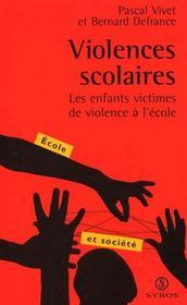 Violences Scolaires - Intérieur - Format classique