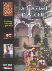 La casbah d'alger : ou l'art de vivre des algeriennes - Intérieur - Format classique