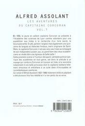 Aven Du Capit Corcoran T1 - 4ème de couverture - Format classique