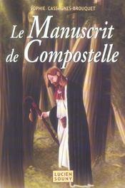 Le manuscrit de compostelle - Intérieur - Format classique