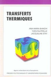 Transferts Thermiques - Intérieur - Format classique