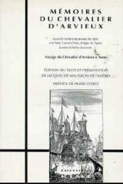 Mémoires du chevalier d'Arvieux - Couverture - Format classique