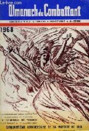 Almanach Du Combattant 1968 - Cinquantieme Anniversaire De La Victoire De 1918 - Couverture - Format classique