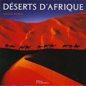 Deserts D'Afrique - Intérieur - Format classique