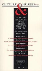 Revue Culture & Musees T.10 - Intérieur - Format classique