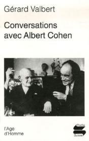 Conversations avec Albert Cohen - Couverture - Format classique