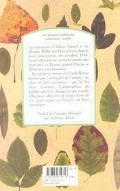 Un pique-nique au paradis - 4ème de couverture - Format classique