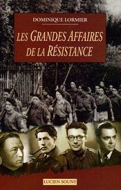 Aed Les Grandes Affaires De La Resistance - Intérieur - Format classique