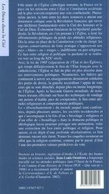 Politique et religion - 4ème de couverture - Format classique