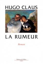 La Rumeur - Couverture - Format classique