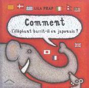 Comment l'éléphant barrit-il en japonais ? - Intérieur - Format classique