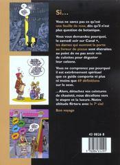 Le Petit Guide Illustre Du Sexe - 4ème de couverture - Format classique