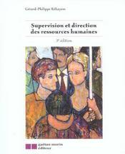 Supervision Et Direction Des Ressources Humaines - Intérieur - Format classique