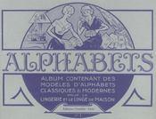 Alphabets. album n 1 - Intérieur - Format classique