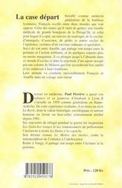 La Case D Part - 4ème de couverture - Format classique