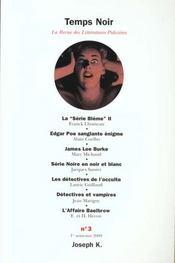 Revue Temps Noir N.3 - Intérieur - Format classique