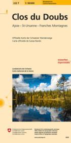 Le Clos Du Doubs Pedestre - Couverture - Format classique