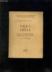 Erec Iwein. - Couverture - Format classique