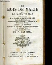 Le Mois De Marie Ou Le Mois De Mai - Couverture - Format classique
