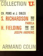 Samuel Richardson - Pamela / Henry Fielding - Joseph Andrews - Collection U² - Couverture - Format classique