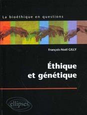 Ethique Et Genetique - Intérieur - Format classique