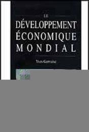 Le developpement economique mondial - Intérieur - Format classique
