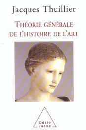 Theorie Generale De L'Histoire De L'Art - Intérieur - Format classique