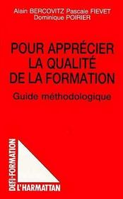 Pour Apprecier La Qualite De La Formation - Intérieur - Format classique