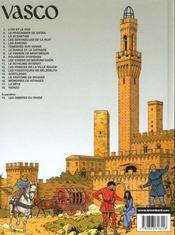 Vasco T7 Le Diable Et Le Cathare - 4ème de couverture - Format classique