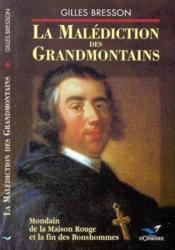 Malediction des grandmontains (la) - Couverture - Format classique