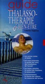 Guide Thalassotherapie Et Bien-Etre - Couverture - Format classique