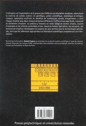 La Preuve Par L'Adn ; La Genetique Au Service De La Justice - 4ème de couverture - Format classique