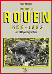 Histoire de rouen 1958-1983 - t.4 - Couverture - Format classique