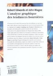 Analyse Graphique Des Tendances Boursieres - 4ème de couverture - Format classique