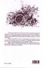 Vingt ans de cuisine buissonière ; de la Provence aux Cévennes ardéchoises - 4ème de couverture - Format classique