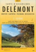 Delemont pédestre - Couverture - Format classique