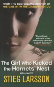 Vente livre :  THE GIRL WHO KICKED THE HORNETS' NEST  - Stieg Larsson