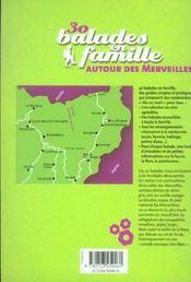 30 Balades En Famille Autour Des Merveilles - 4ème de couverture - Format classique