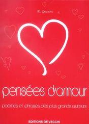 Pensees D'Amour - Intérieur - Format classique