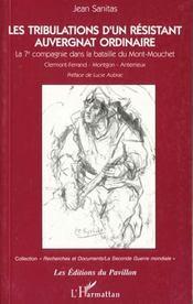 Les Tribulations D'Un Resistantauvergnat Ordinaire - Intérieur - Format classique
